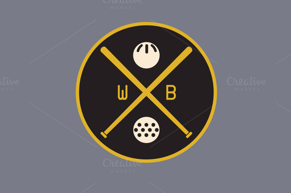 Wiffle Ball Sports Patch