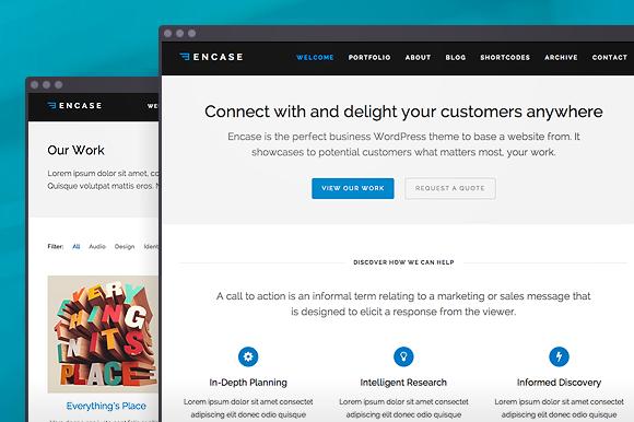 Encase WordPress Theme
