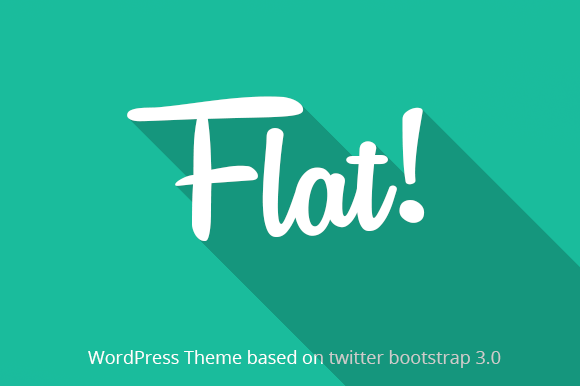 Flat Responsive WP Bootstrap Theme