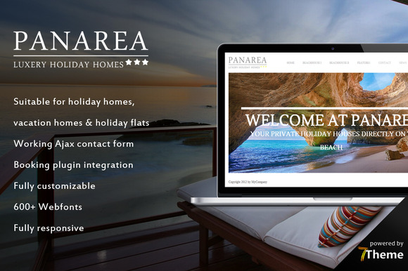 Panarea Holiday House WP Theme