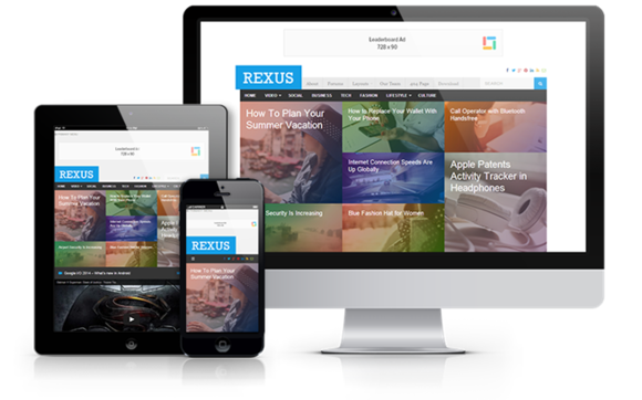 Rexus Responsive WordPress Theme