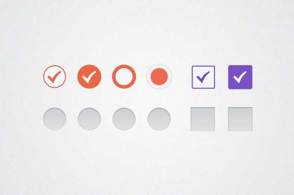 Option And Checkmark Icons