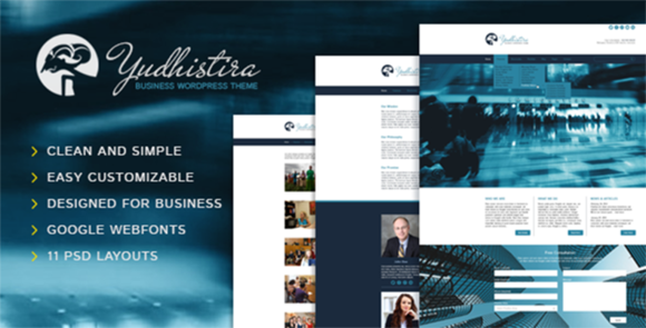 Yudhistira Multi-Purpose PSD Theme