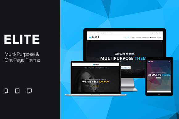 Elite Multi-Purpose One Page Theme