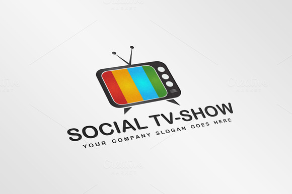 Exclusive Television Logo Template