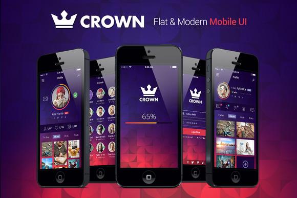 Crown Fresh Mobile UI