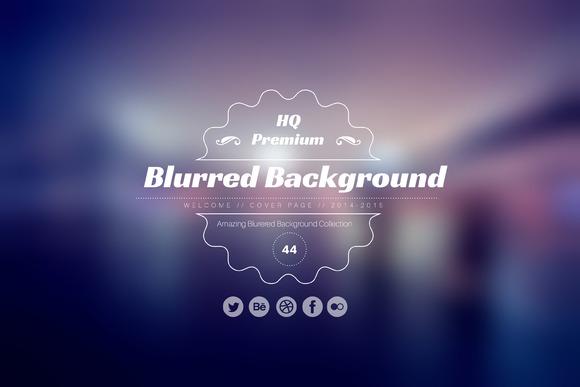 HQ Premium Blurred Background Pack
