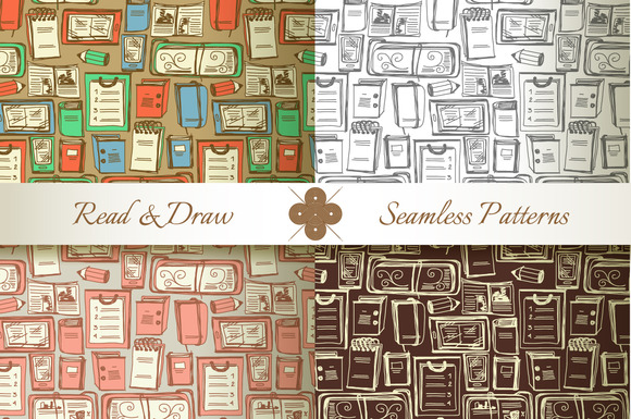Read Draw Seamless Patterns