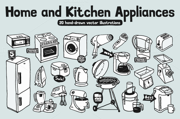Home Kitchen Appliances 20 Images