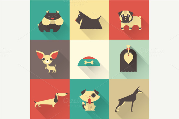 Vector Dogs