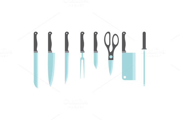 Vector Knife Set