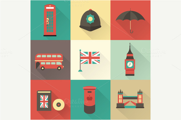 London Vector Icons