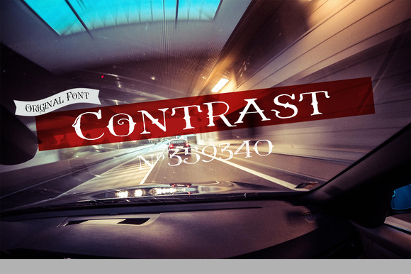 Contrast VTKS Font