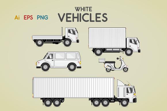 White Vehicles