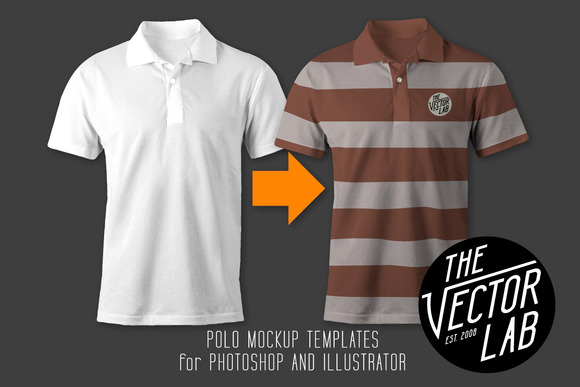 Men S Polo Shirt Mockup Templates