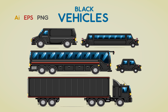 Black Vehicles
