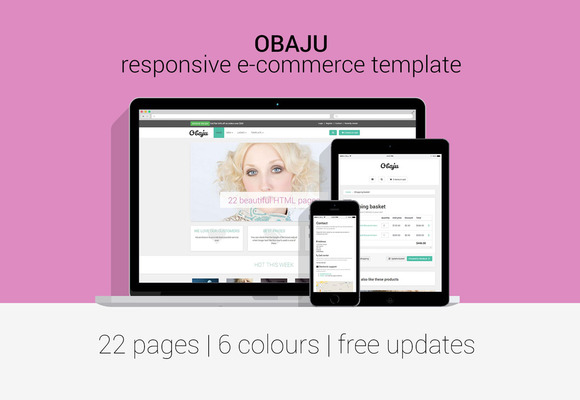 Obaju Responsive E-commerce Template