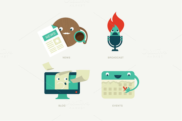 Fun Web Icons