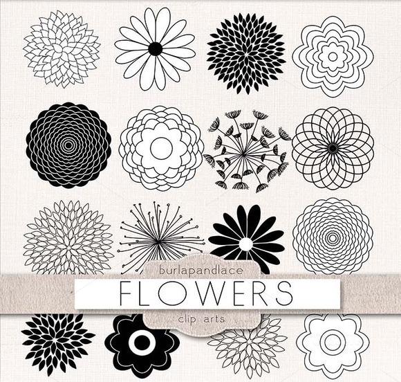 Vector Clipart Flower