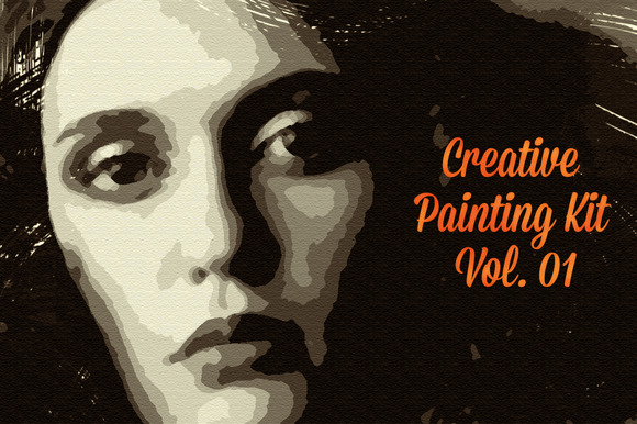 Creative Painting Kit Vol 01