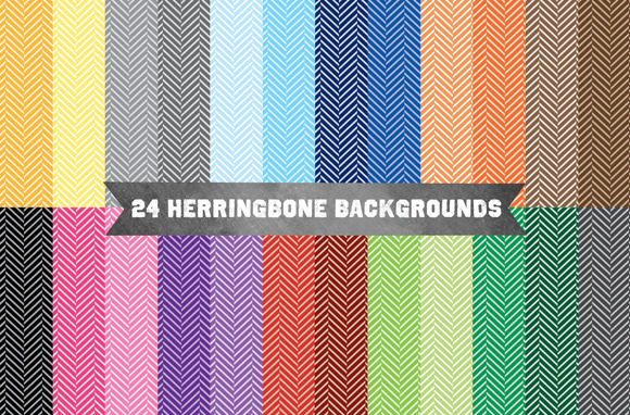 Herringbone Pattern Backgrounds