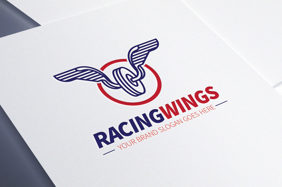 Racing Wings Logo