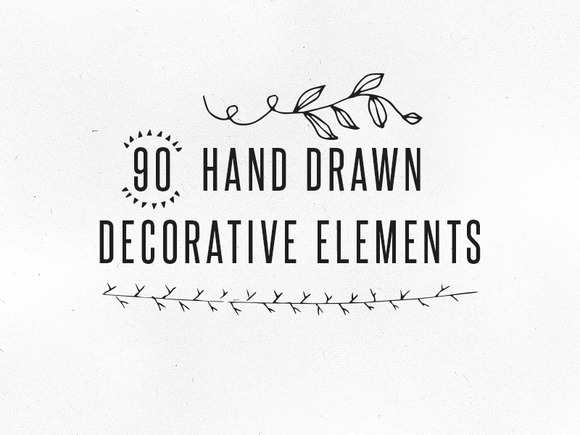 Handdrawn Decorative Elements