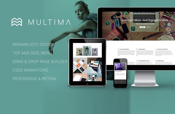 Multima Multipurpose WP Theme