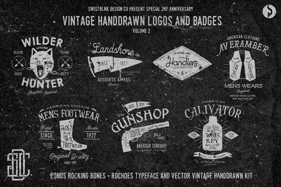 Vintage Logos Vol 2 #2ndAnniversary