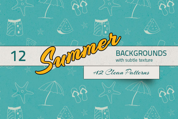 Summer Backgrounds Patterns