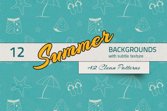 Summer Backgrounds Patterns
