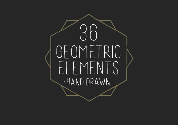 Hand Drawn Geometric Elements