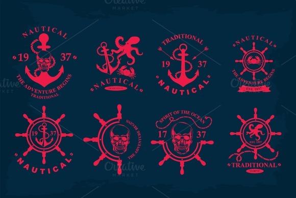 8 Nautical Icons