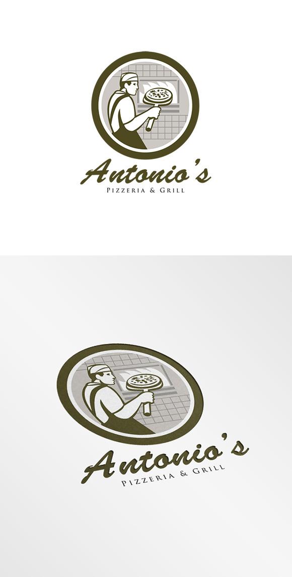 Antonio S Pizzeria Logo