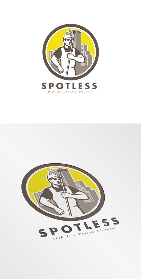 Spotless Hi-Rise Window Cleaners Log