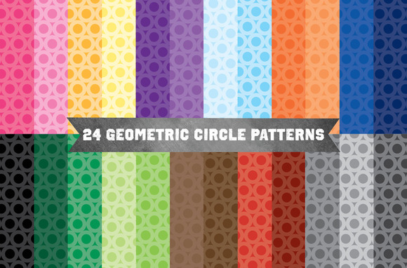 Geometric Circle Patterns