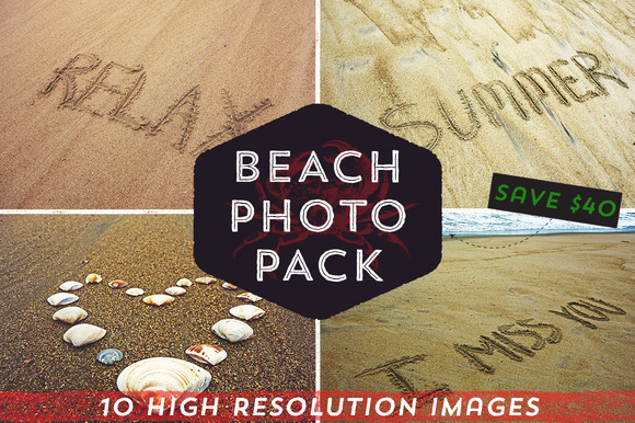 Beach Photo Pack