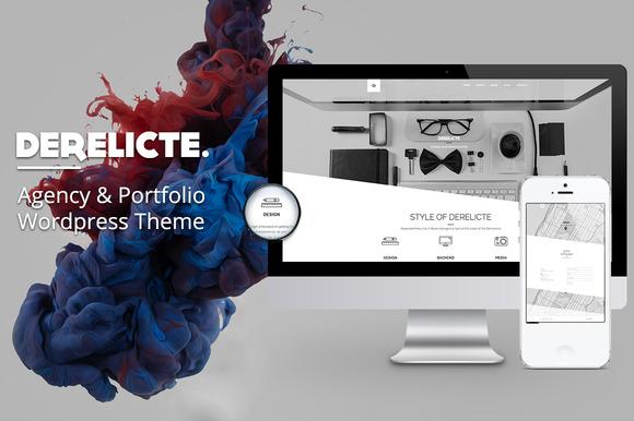Derelicte Agency Portfolio WP