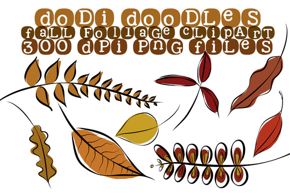 Fall Foliage Clipart