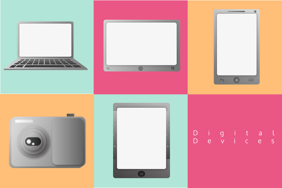 Digital Devices Vectors