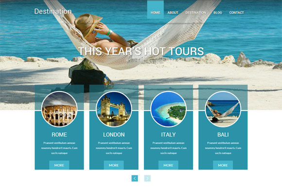 Destination Travel WordPress Theme