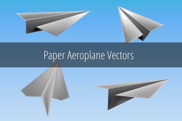 Paper Plane Vectors