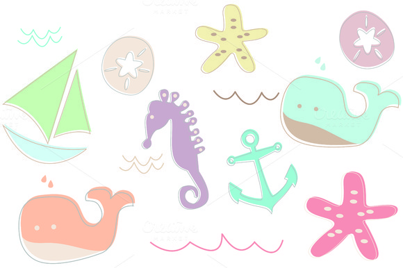 Nautical Beach Critters