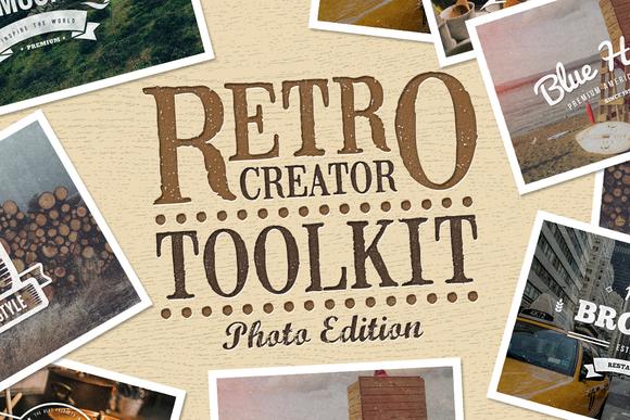 Retro Creator Tool Kit Photo Edition