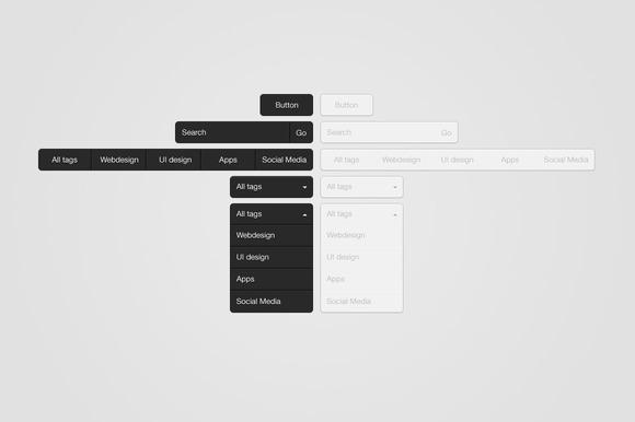Clean Dropdown UI