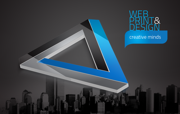 RW Creative Agency Identity Logo