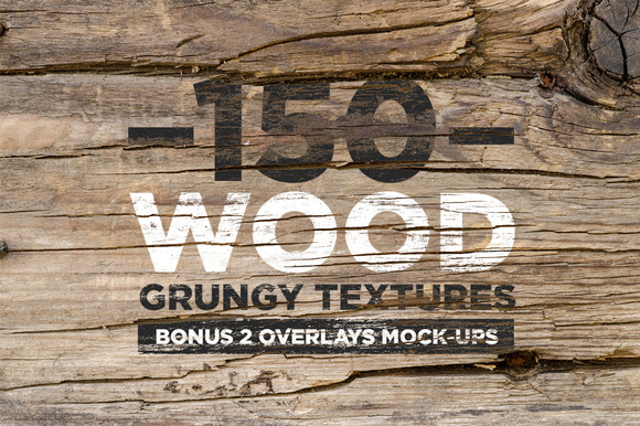 150 Wood Grungy Textures