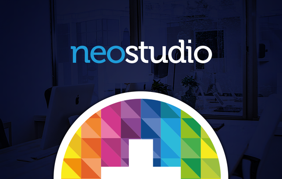 RW NeoStudio Modern Identity Logo