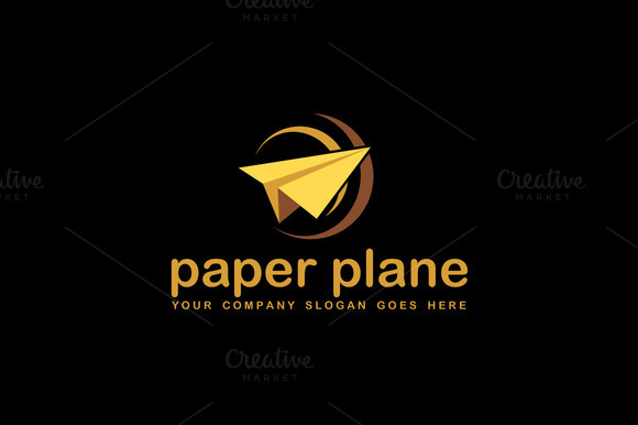Airlines Agency Logo Template