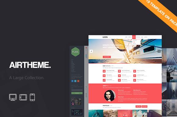 AirTheme Big Pack HTML Template